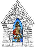 DivineMercyHutShovelCharcoalStone 2
